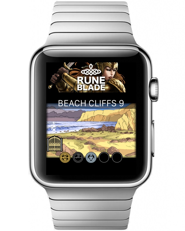 Apple Watch smartwatch gaming RuneBlade