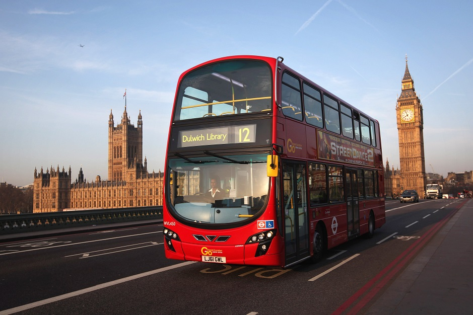 London bus driver suspended