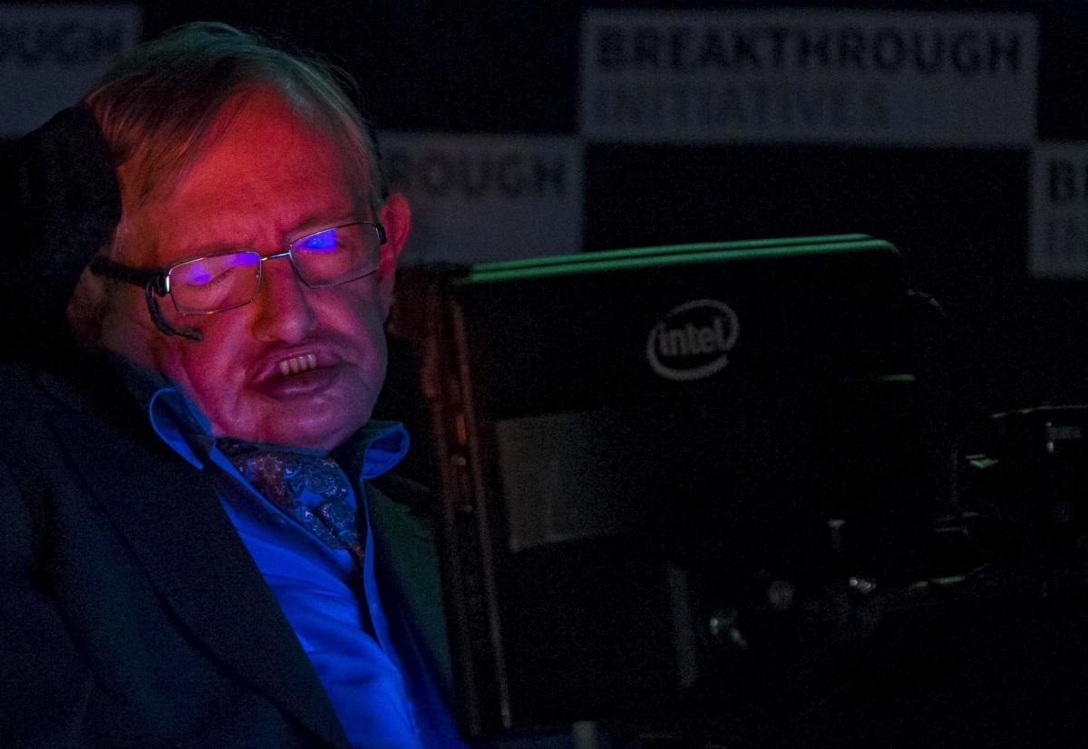 Stephen Hawking ill Cambridge BBC