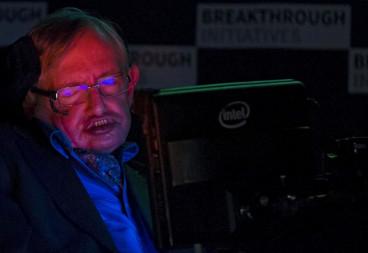 Stephen Hawking ill Cambridge BBC