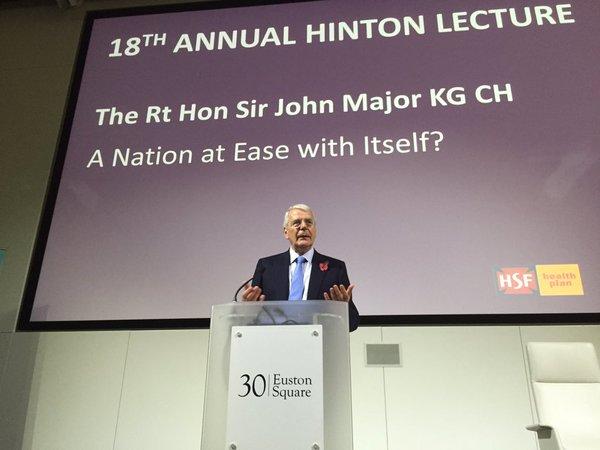 john major prime minister UK