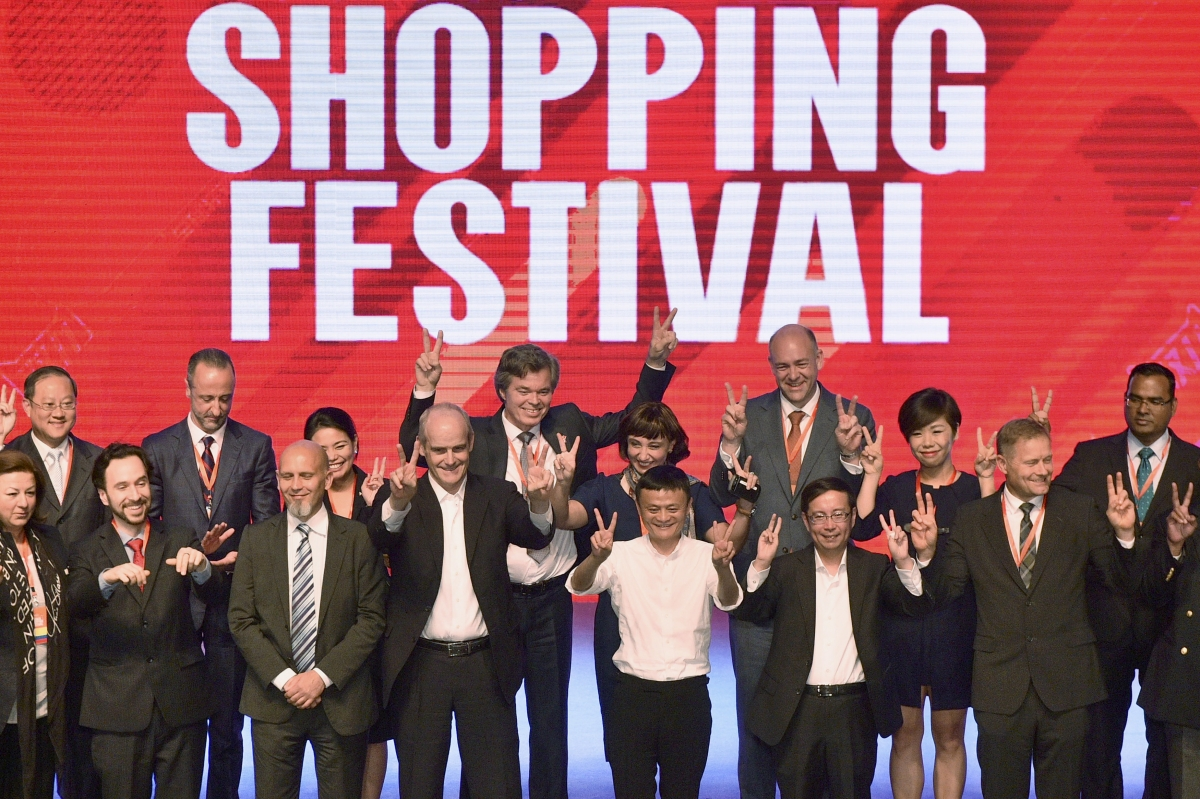 Singles Day sales for Alibaba exceeds $1bn in the first 8 minutes