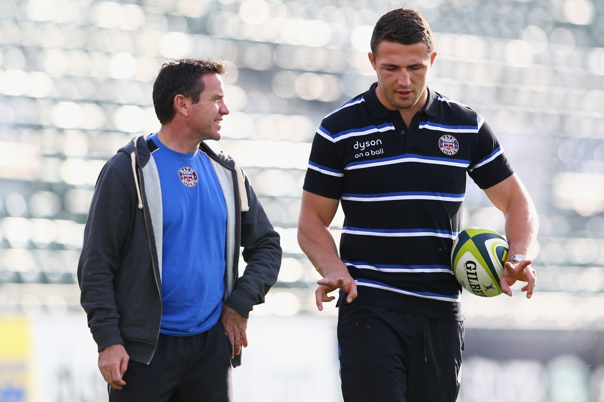 Mike Ford and Sam Burgess