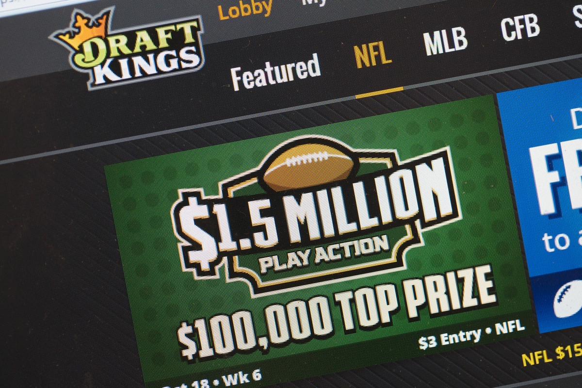 DraftKings daily fantasy sports site