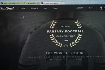 FanDuel daily fantasy sports website