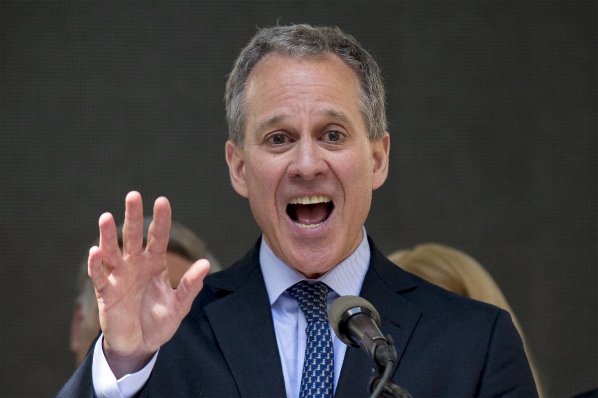 New York Attorney General Eric T Schneiderman