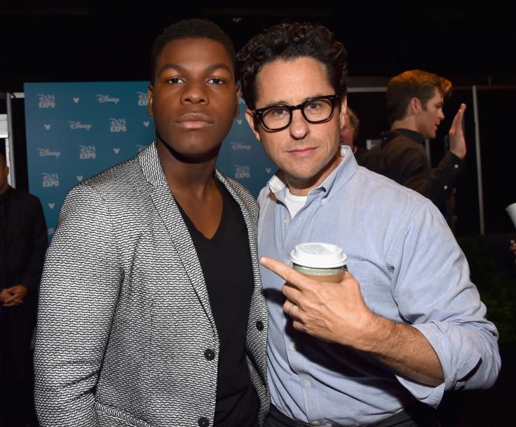 J.J. Abrams and John Boyega