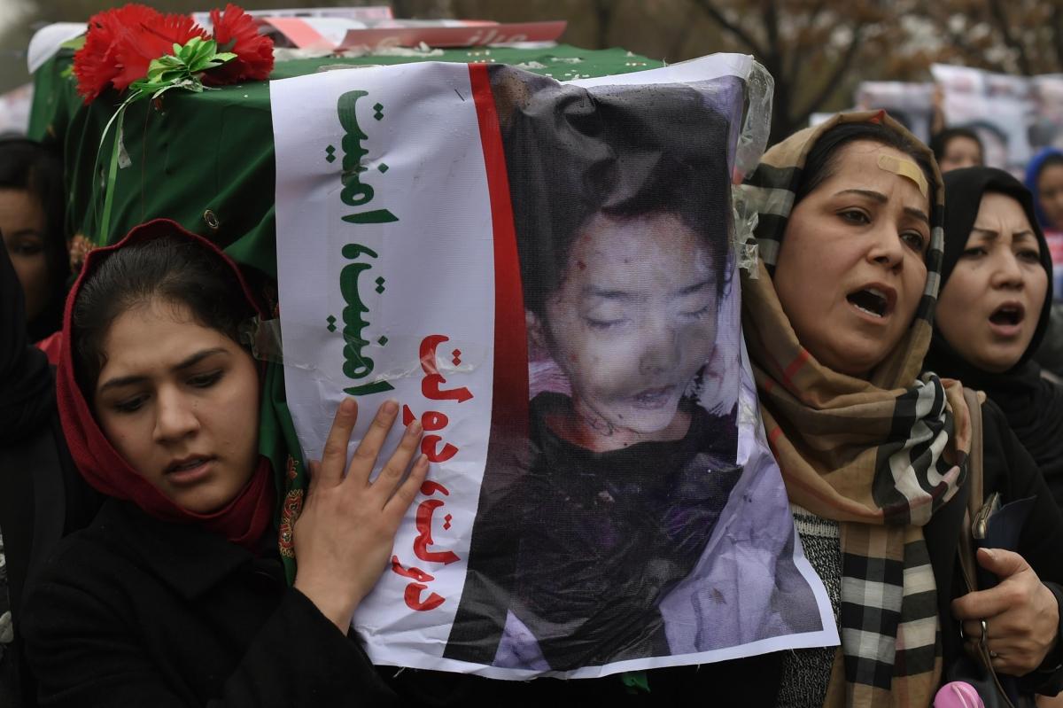 Afghan Hazara protest