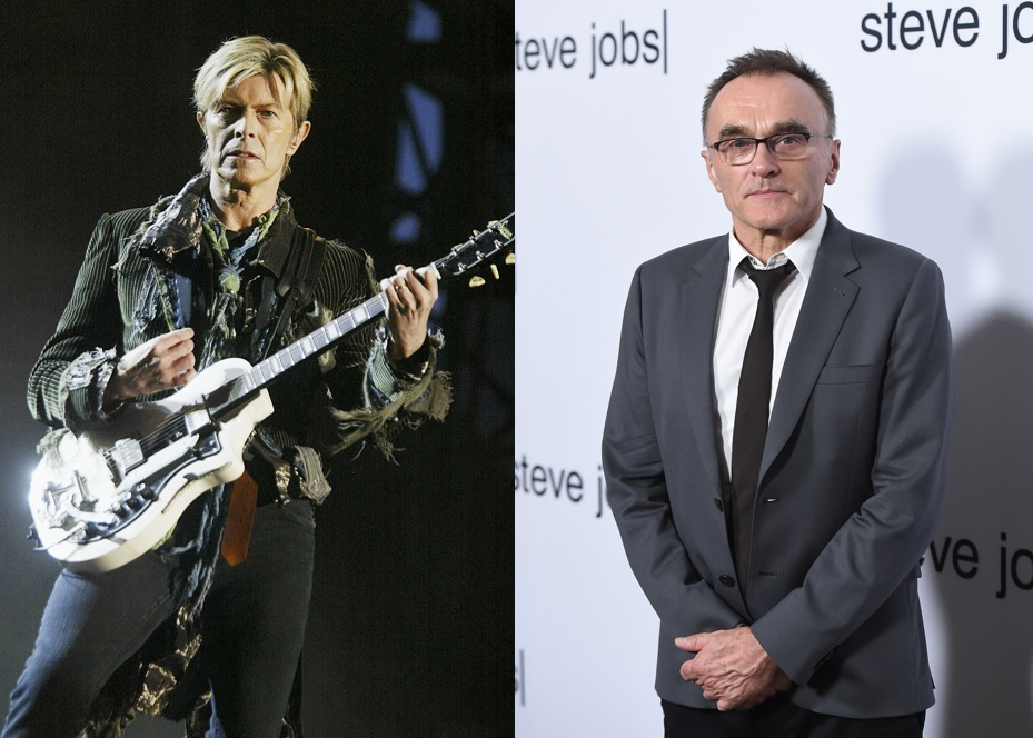 David Bowie and Danny Boyle