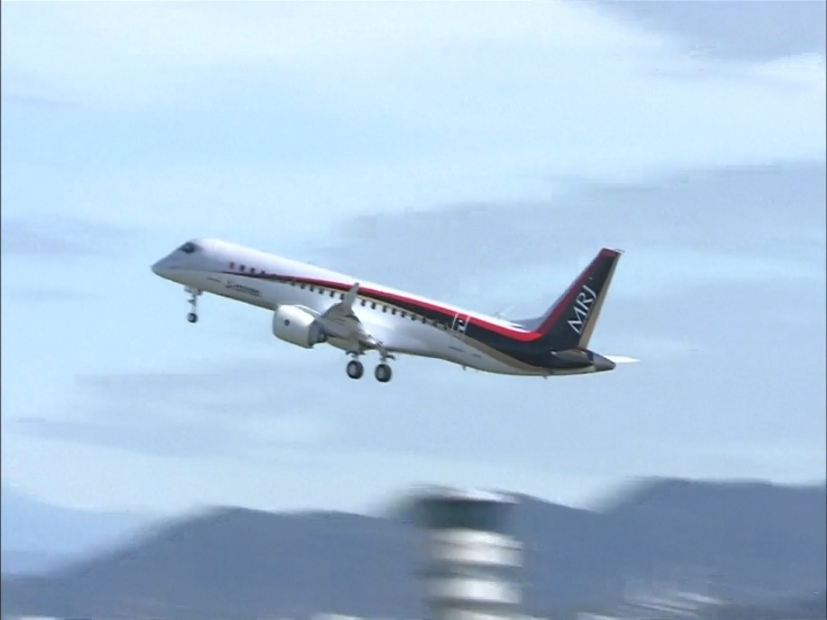 Japan: First commercial jet in 50 years