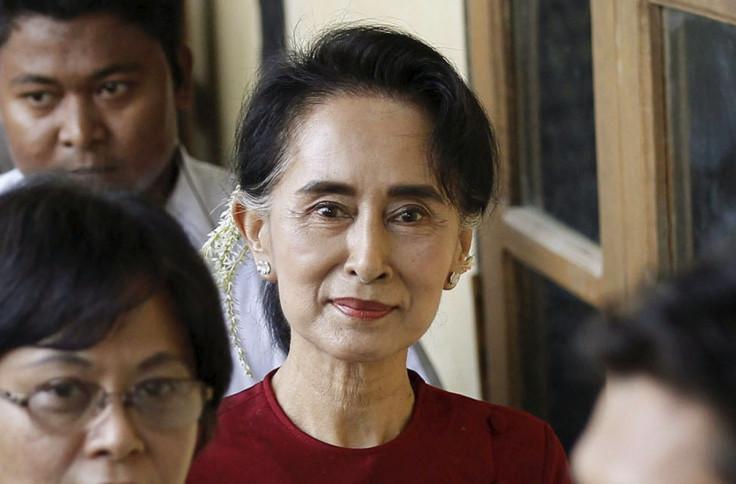 Myanmar elections Aung San Suu Kyi