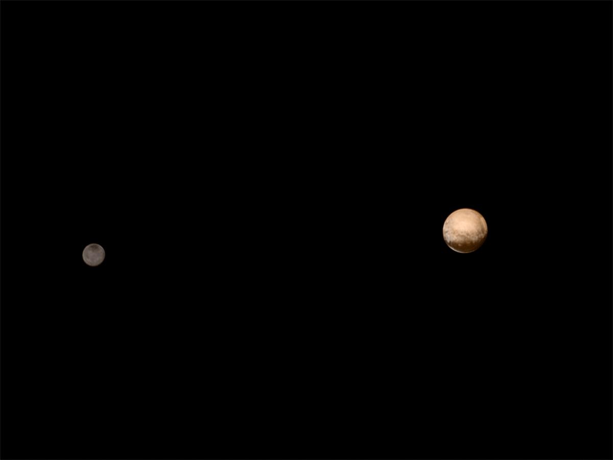 Charon & Pluto