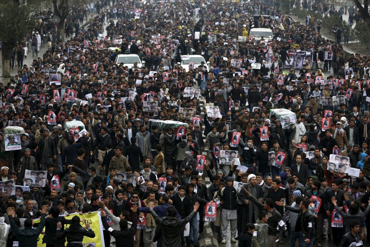 Afghan Kabul protest