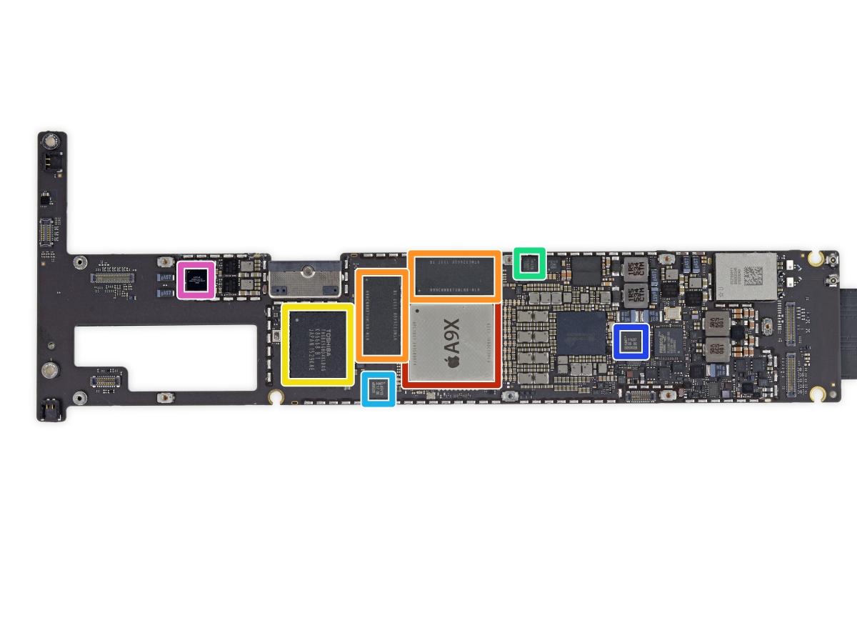 12.9in Apple iPad Pro: Full teardown