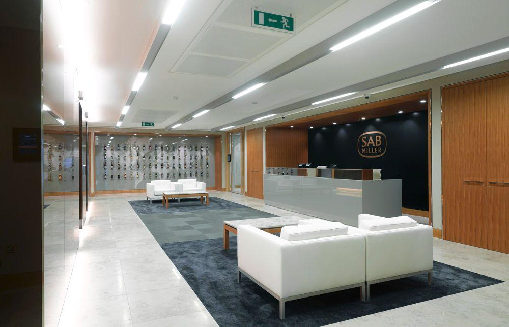 SABMiller's Mayfair office