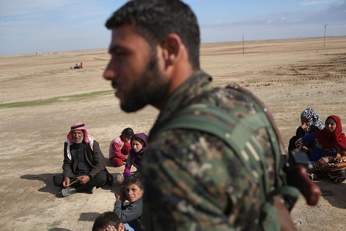 Rojava Kurdish Syria