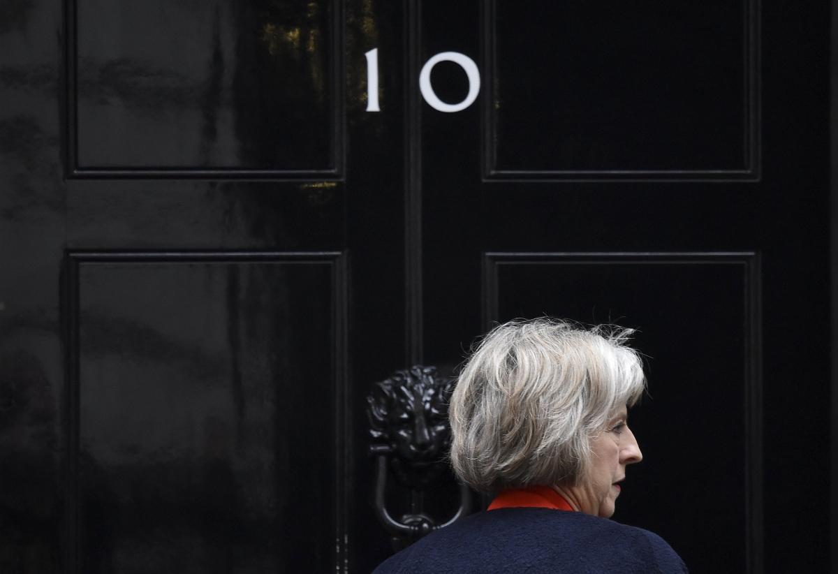 Theresa May returning to No.10
