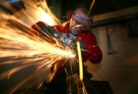Industrial production falls