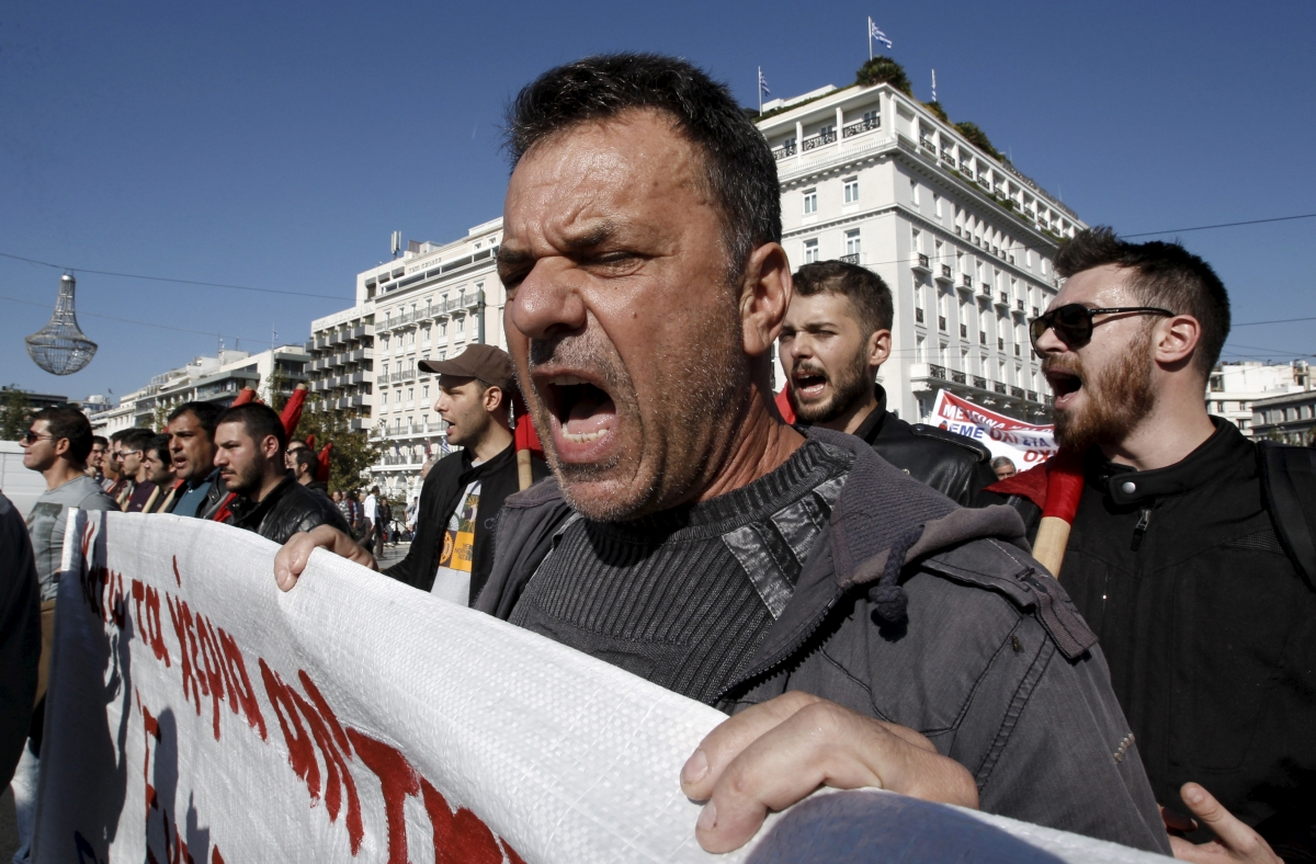 Greece general strike