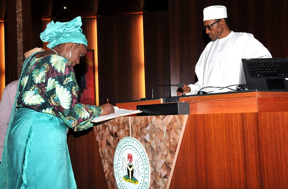 Kemi Adeosun  new finance minister