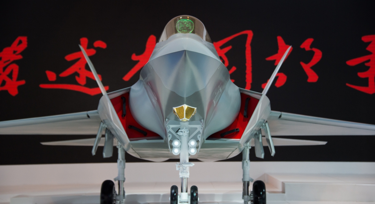 China develops invisble jet stealth technology