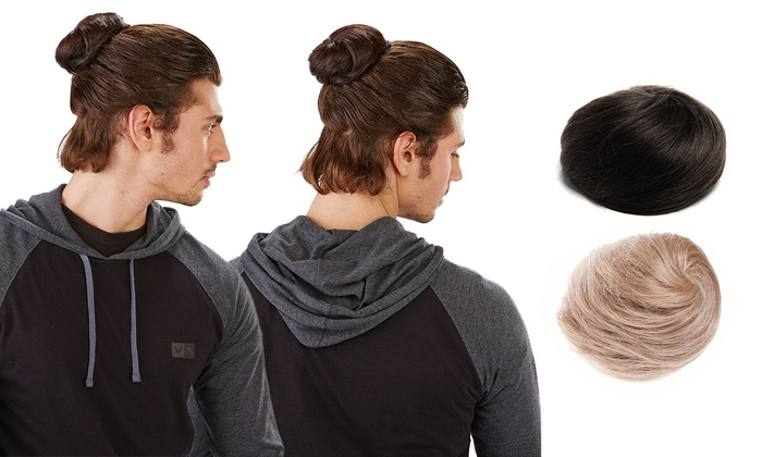 Groupon's man bun