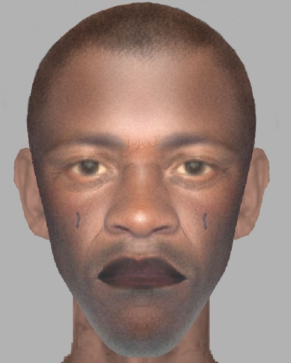 Police photofit of suspect in Woodford Green
