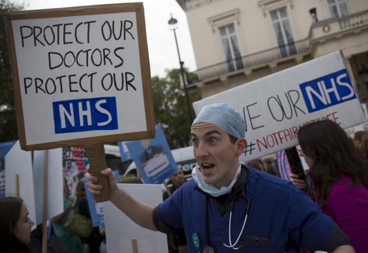 Junior doctor protest in October