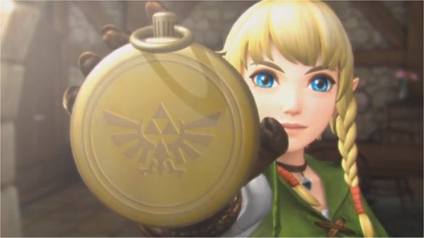 Female Link Hyrule Warriors