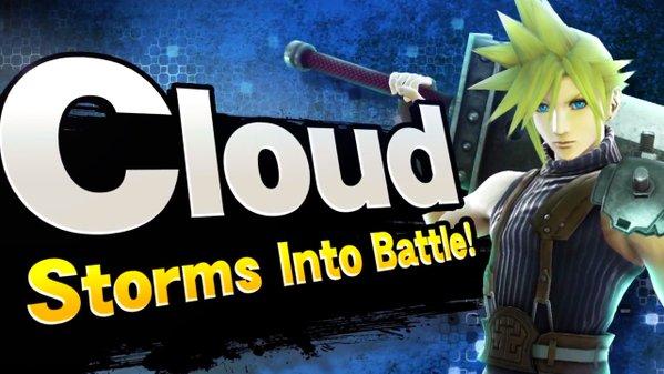 Cloud Final Fantasy Smash Bros