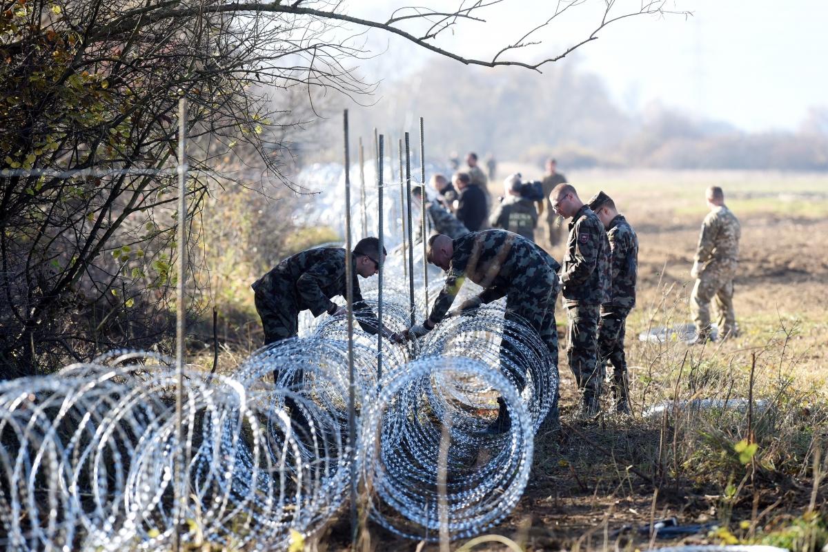 Slovenia fences