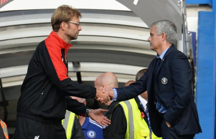 Jurgen Klopp & Jose Mourinho