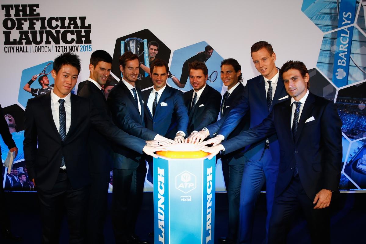 ATP World Tour Finals launch