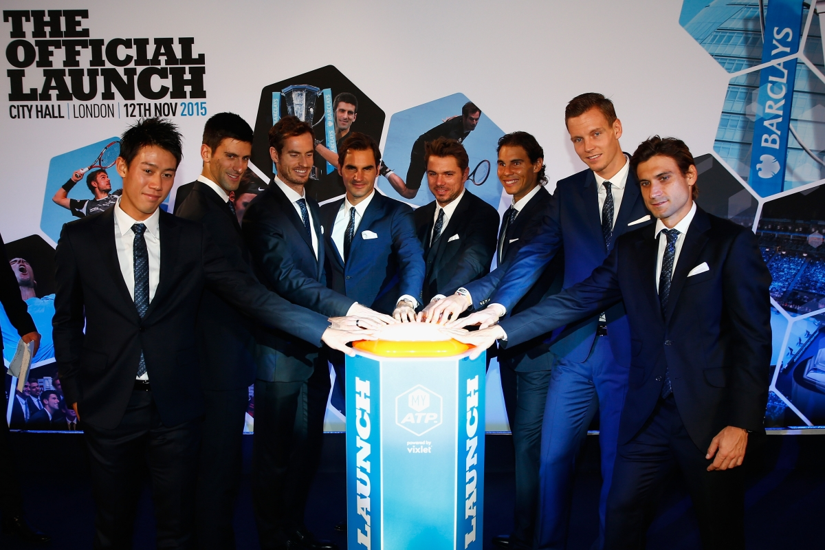 ATP World Tour Finals launch
