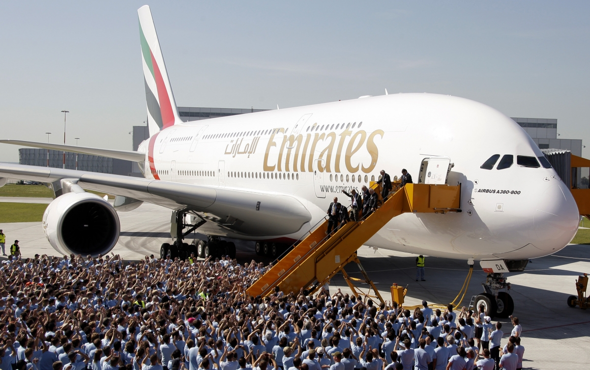 Emirates plane scraps first class to accommodate the most passengers ever