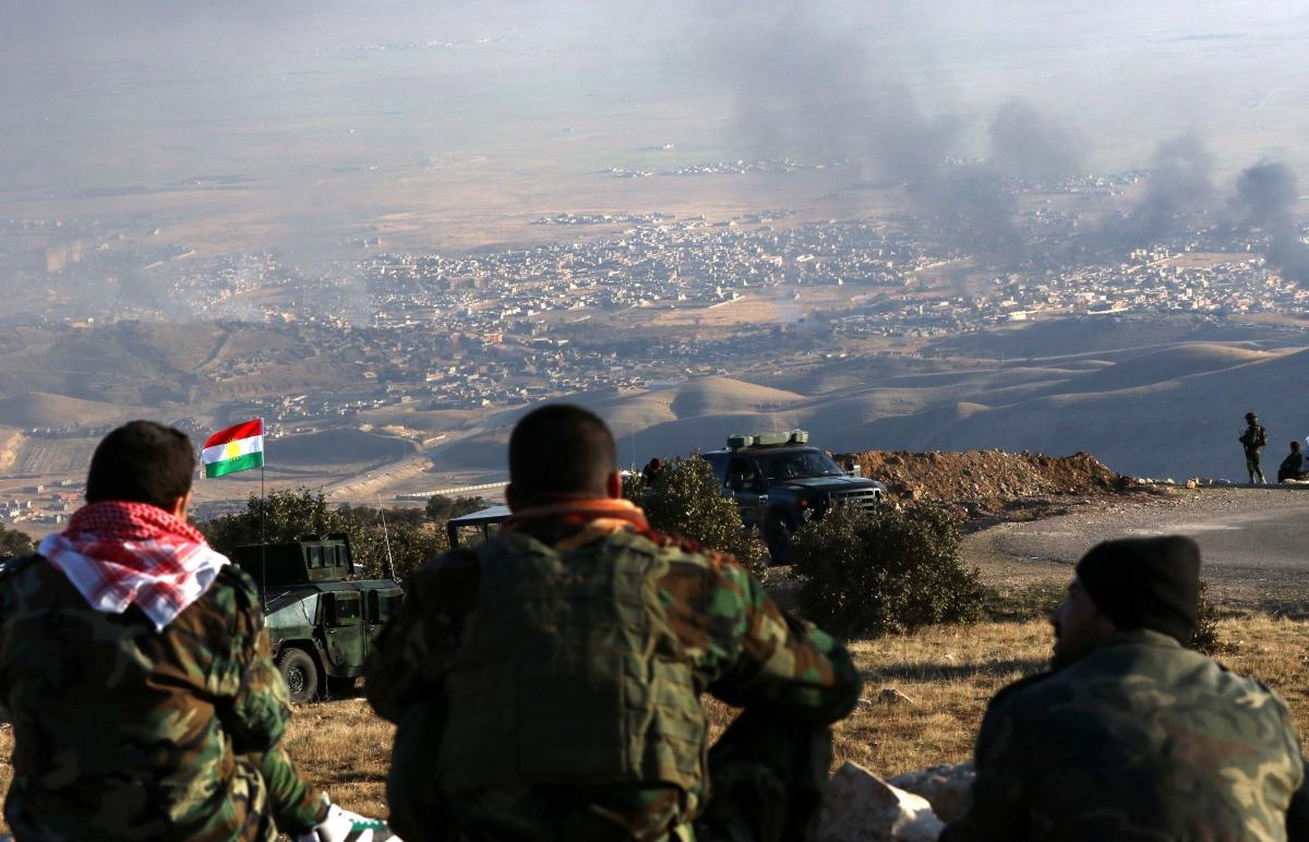Free Sinjar operation
