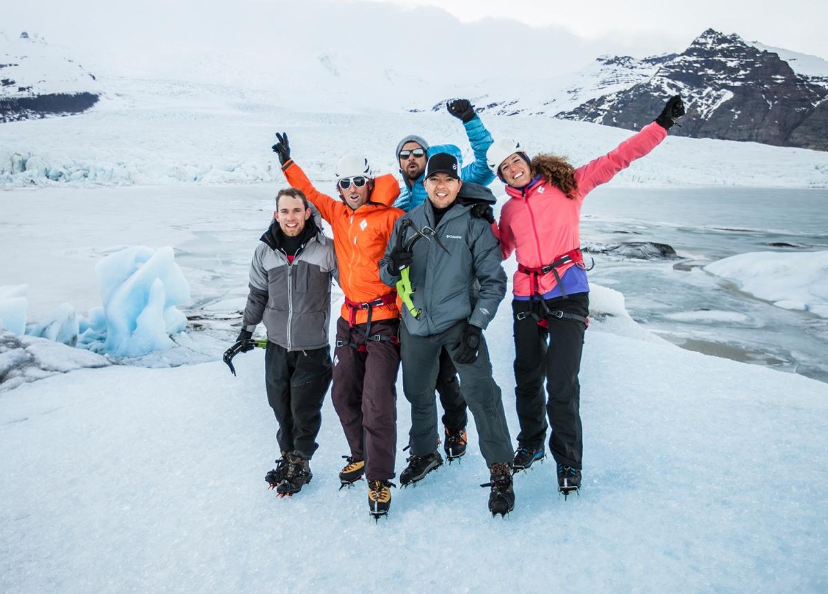 Climbing Ice The Iceland Trifecta