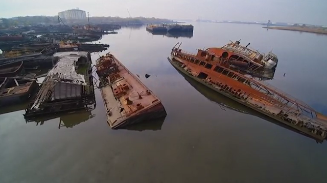 Outlet New Jersey >> New York: Watch drone footage capturing abandoned ...