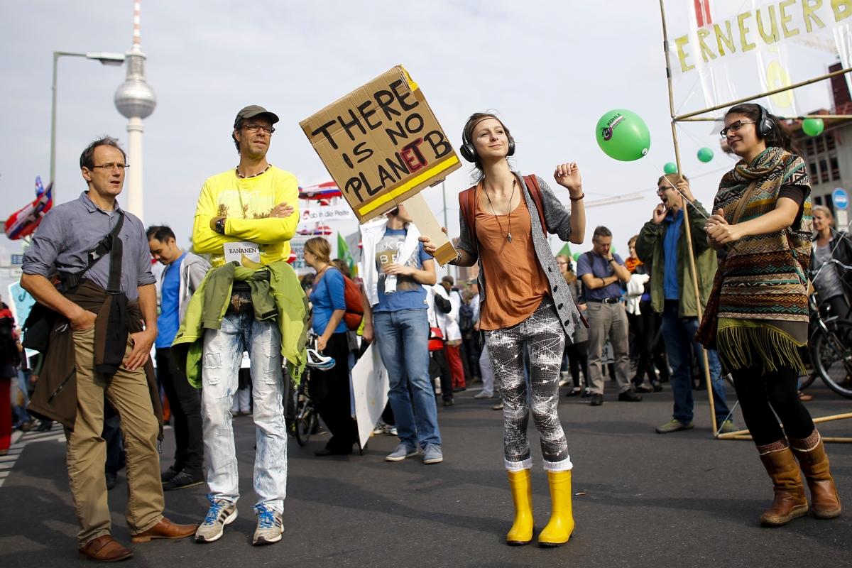 climate change activists