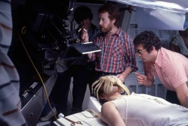 Ridley Scott directing Alien
