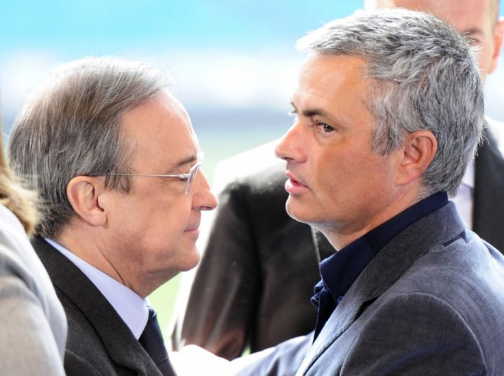 Jose Mourinho Florentino Perez