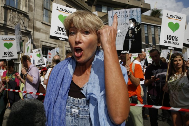 emma thompson climate march