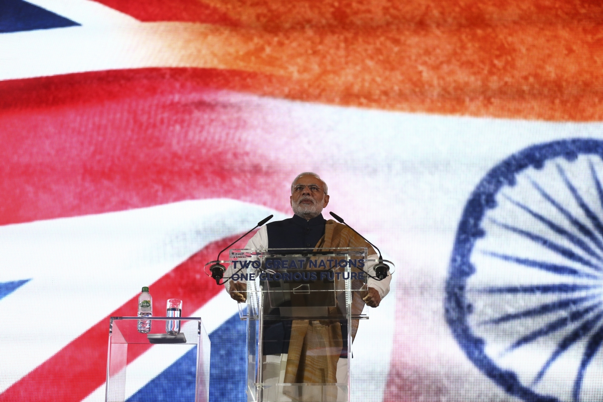 Indian Prime Minister in the UK