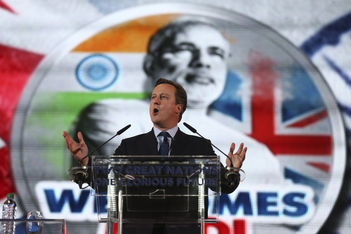 David Cameron welcomes Indian Prime Minister