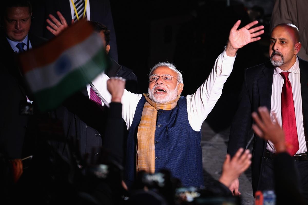 Narendra Modi at Wembley Stadium