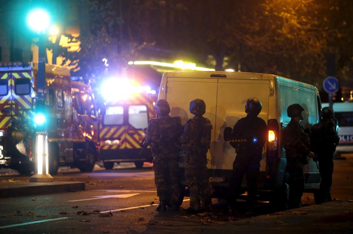 Riot police, Paris