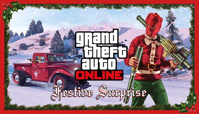 GTA 5 Festive Surprise aka Christmas DLC