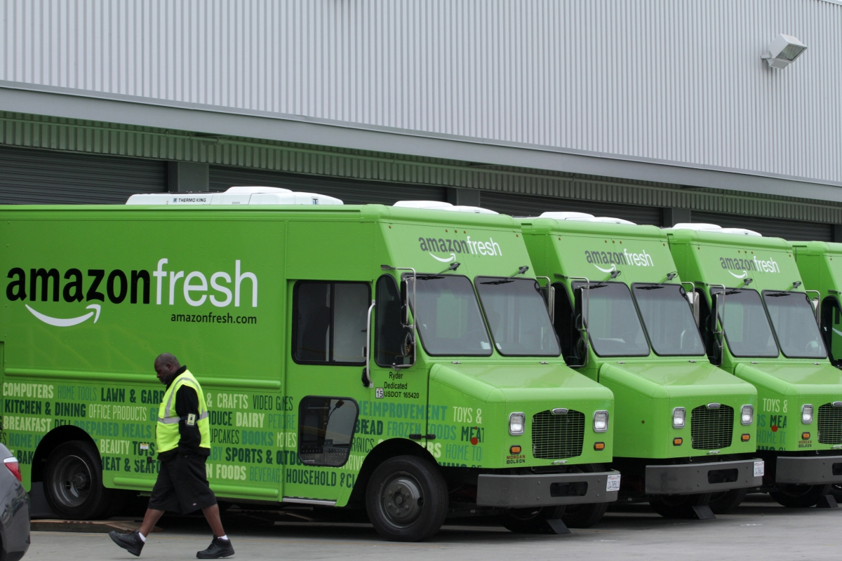 Amazon launches grocery delivery service in UK; will compete with Tesco and Sainsbury's