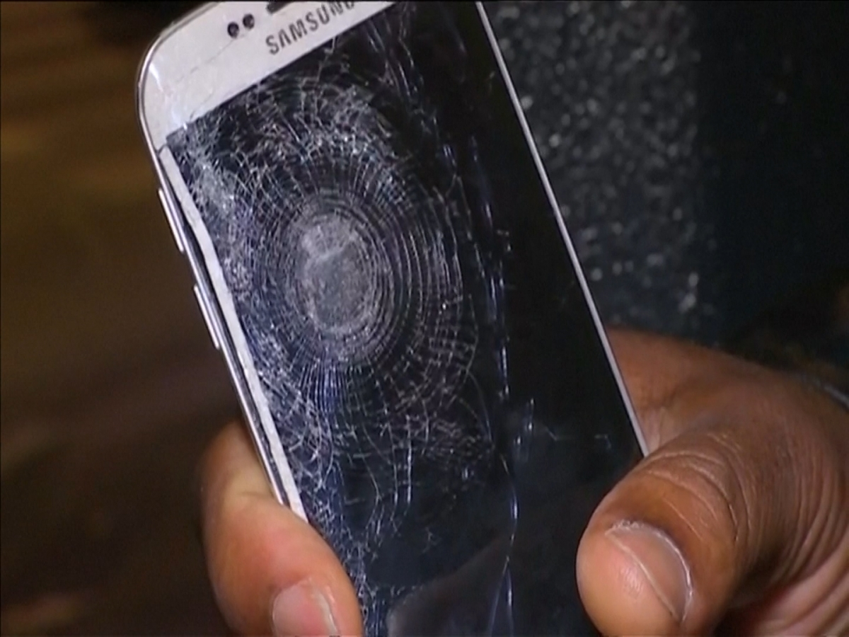 Man saved by phone after Paris attacks