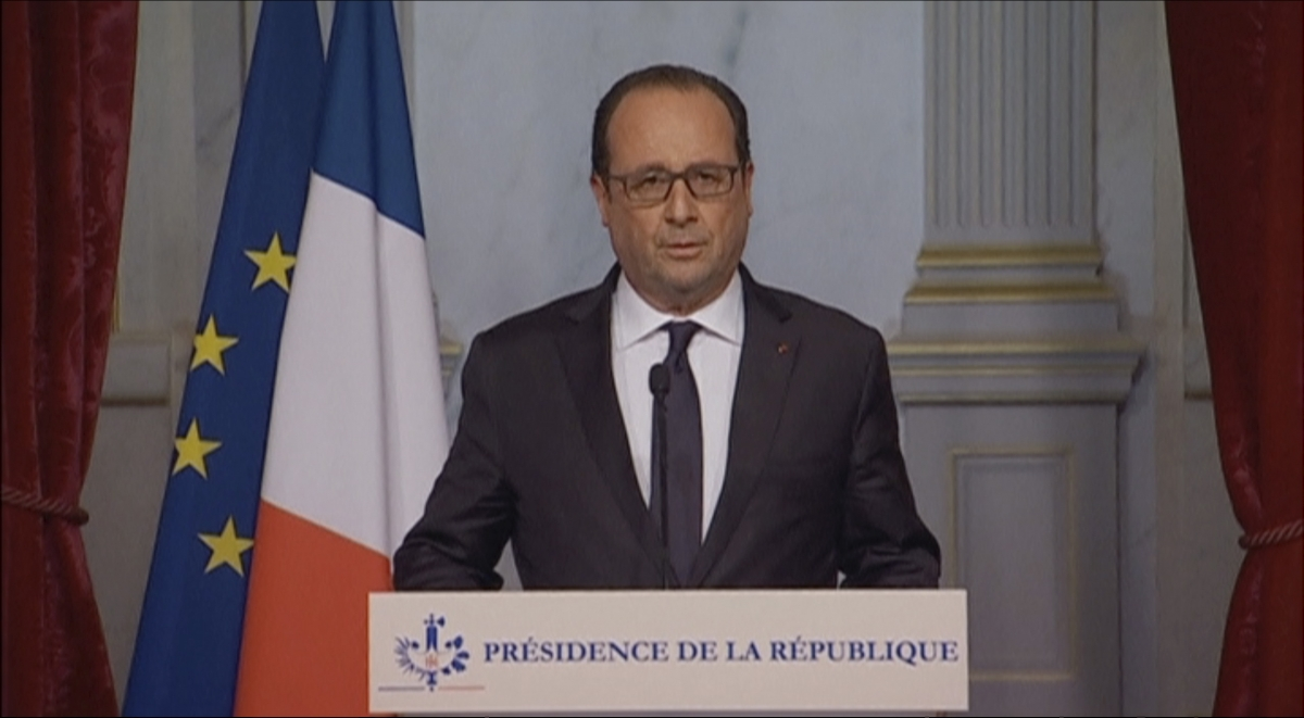 Hollande Paris attacks